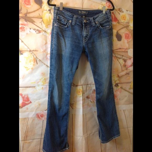 Silver Jeans Pants - Silver suki surplus size 29